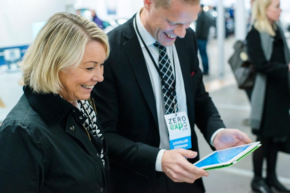 App for hjemmekontroll imponerte Mæland under Zero-konferansen