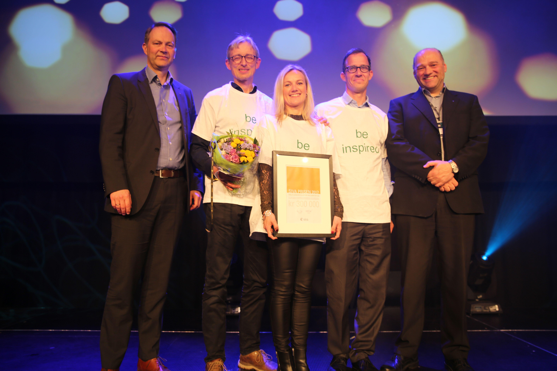 Oslo Cancer Cluster er vinner av Sivaprisen 2017