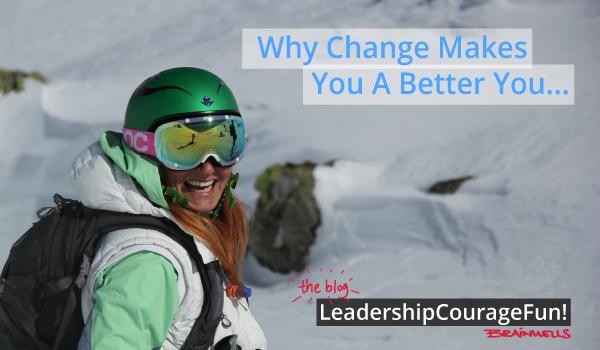 Hvorfor endring gjør deg bedre