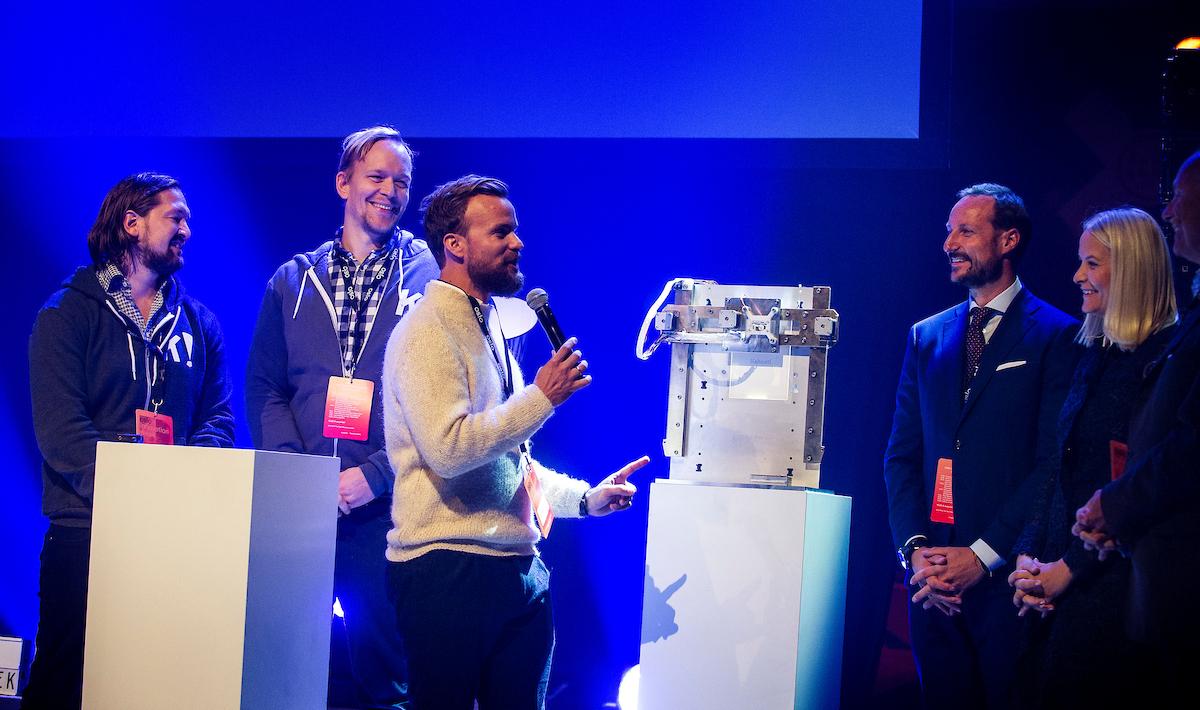 Kahoot er vinner av Oslo Innovation Awards 2016