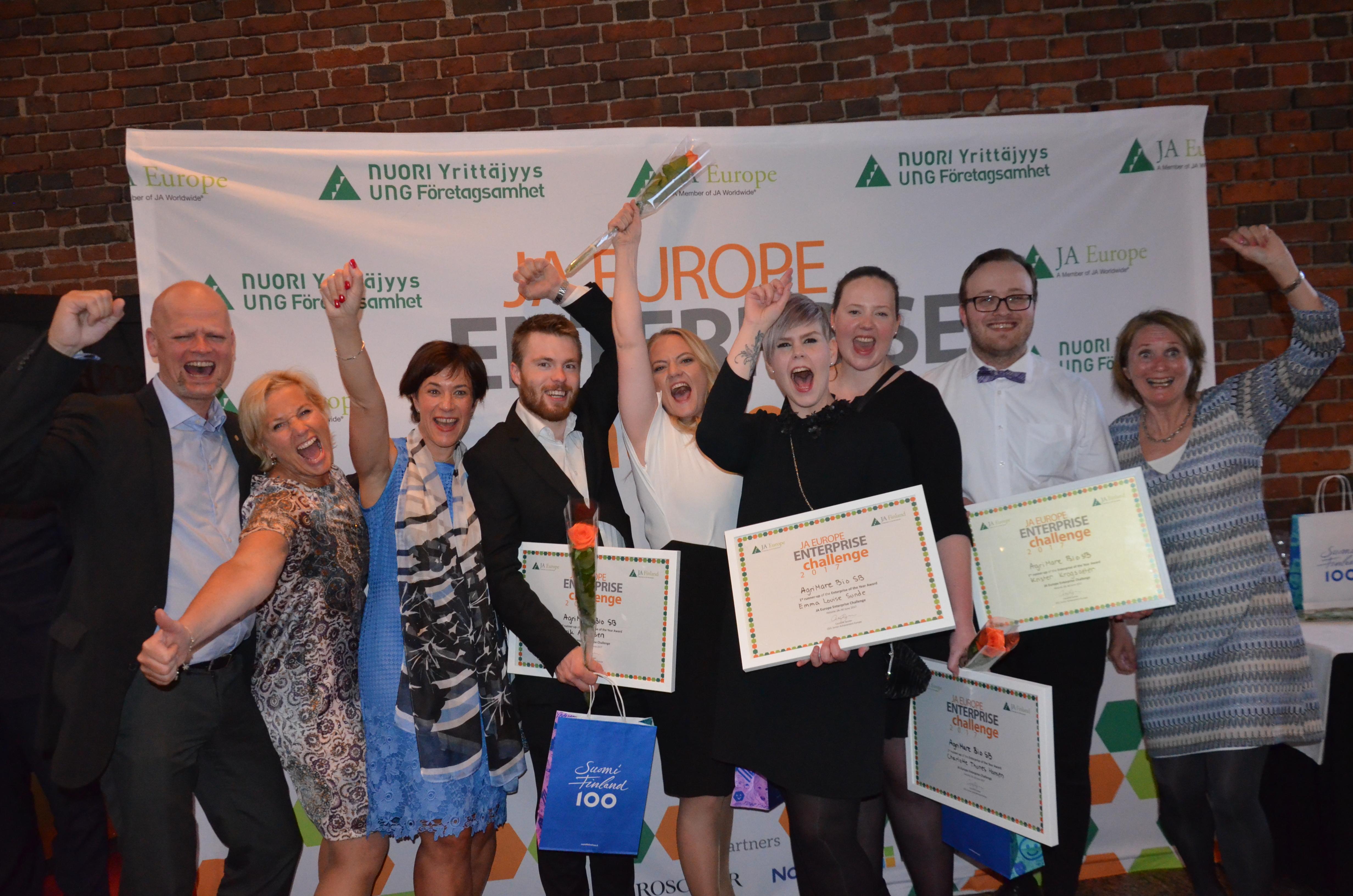 AgriMare Bio SB er Europas nest beste studentbedrift