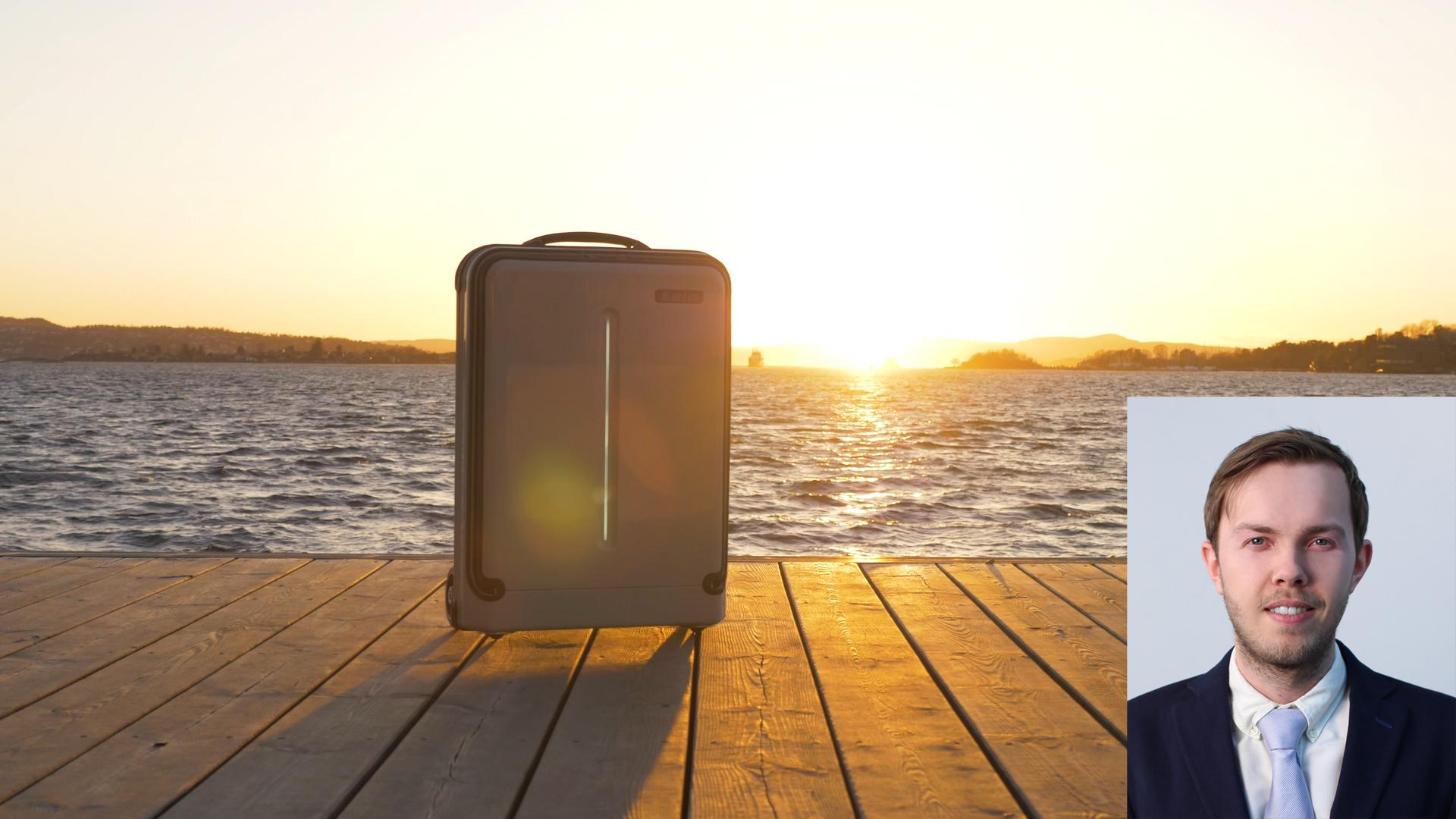 Ukens gründercase: – Terminalvandring blir en lek med fjernstyrt koffert