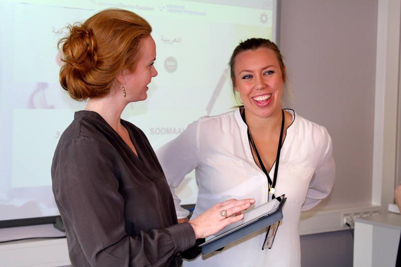 Universal Doctor Speaker løser viktige språkutfordringer i helsearbeidet