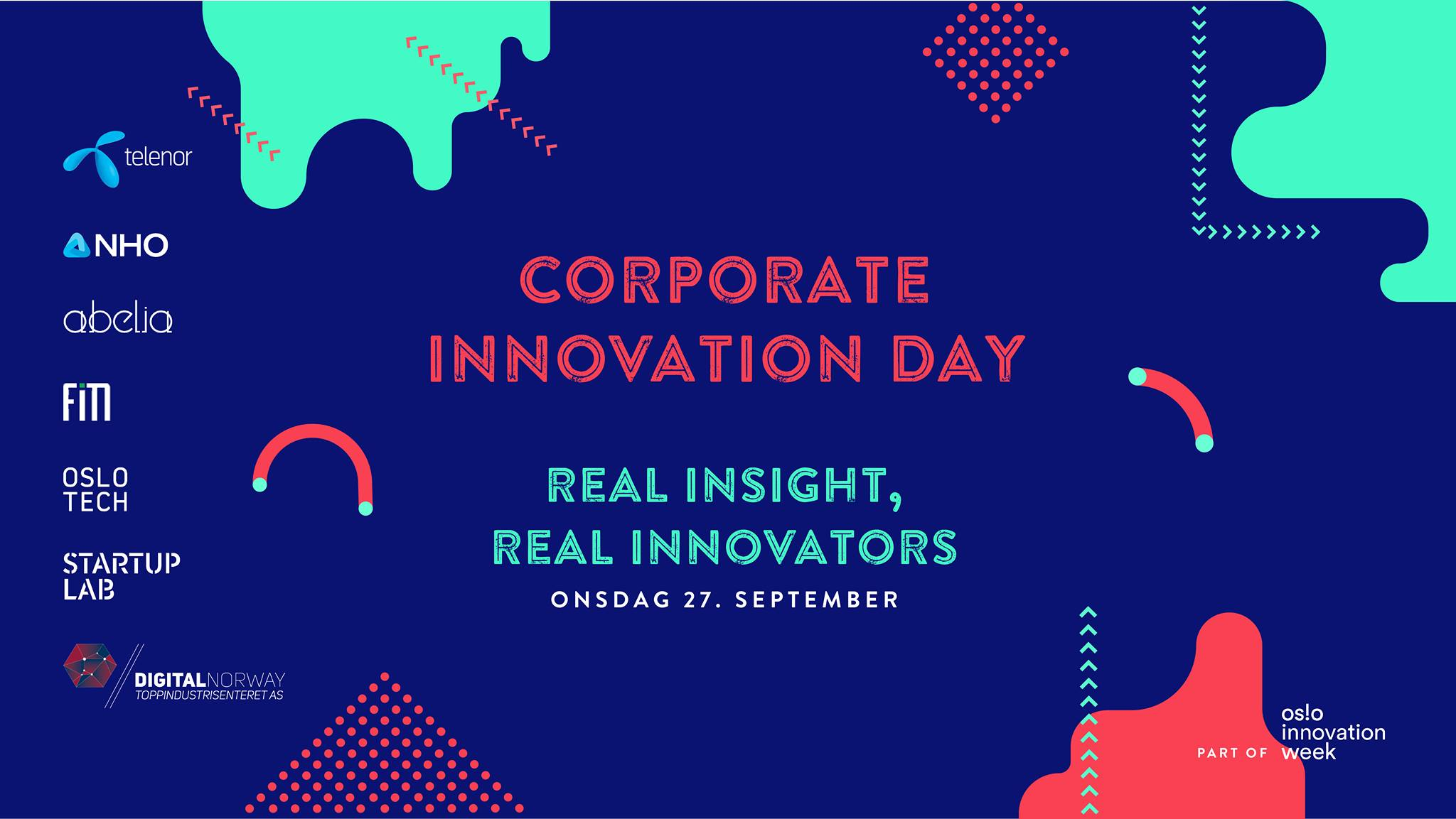 Corporate Innovation Day 2018 – real insight, real innovators