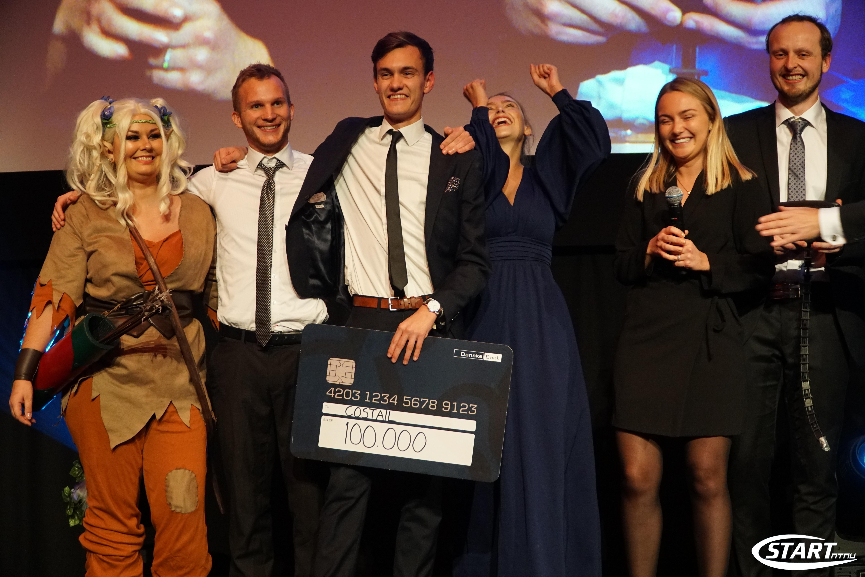 Vant Venture Cup for sin elektriske hale: Stakk av med 100.000 kr