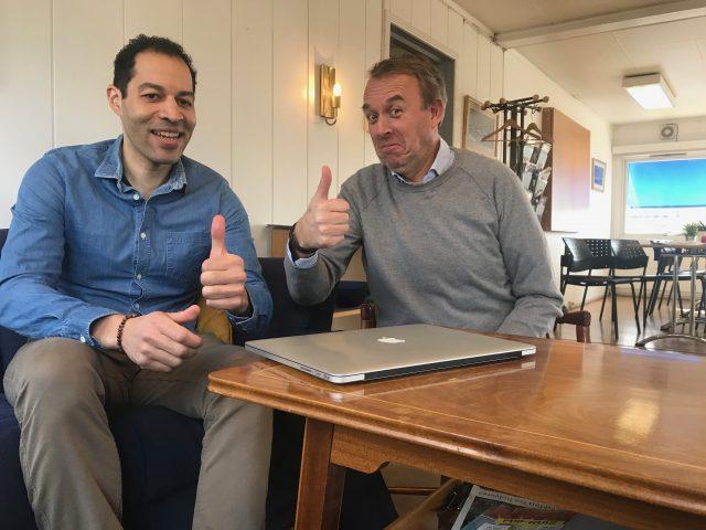 Joakim William Hauge, CEO og Torkel Ruud, COO