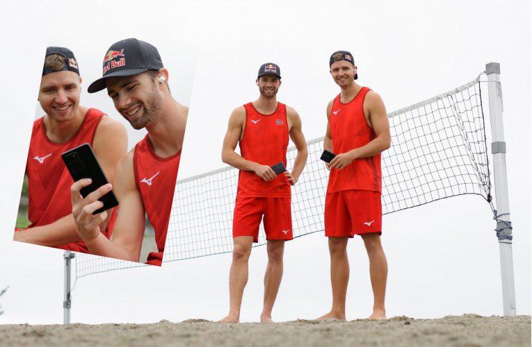 Samsung på lag med verdens beste sandvolleyballduo