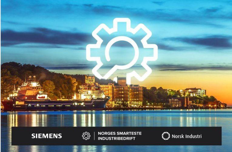 Hvem blir Norges smarteste industribedrift 2020?