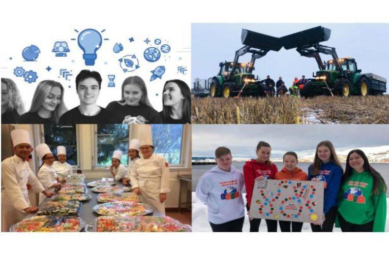 Rekordmange deltagere i digital NM for ungdomsbedrifter