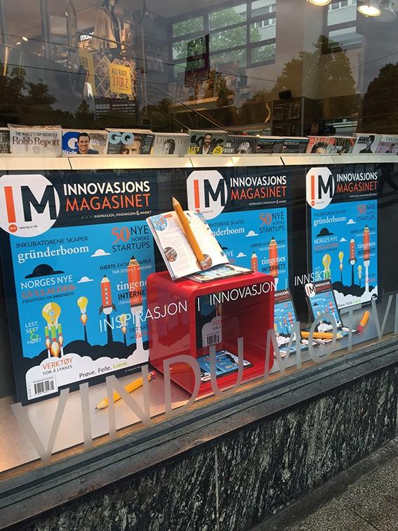 Nå er Innovasjonsmagasinet 2015 i salg!