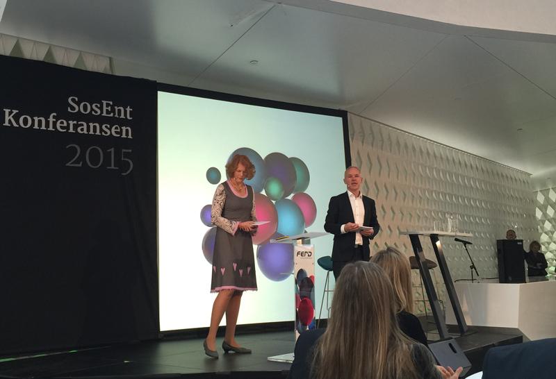– De sosiale entreprenørene ser løsninger der andre ser utfordringer, sier Jan Tore Sanner