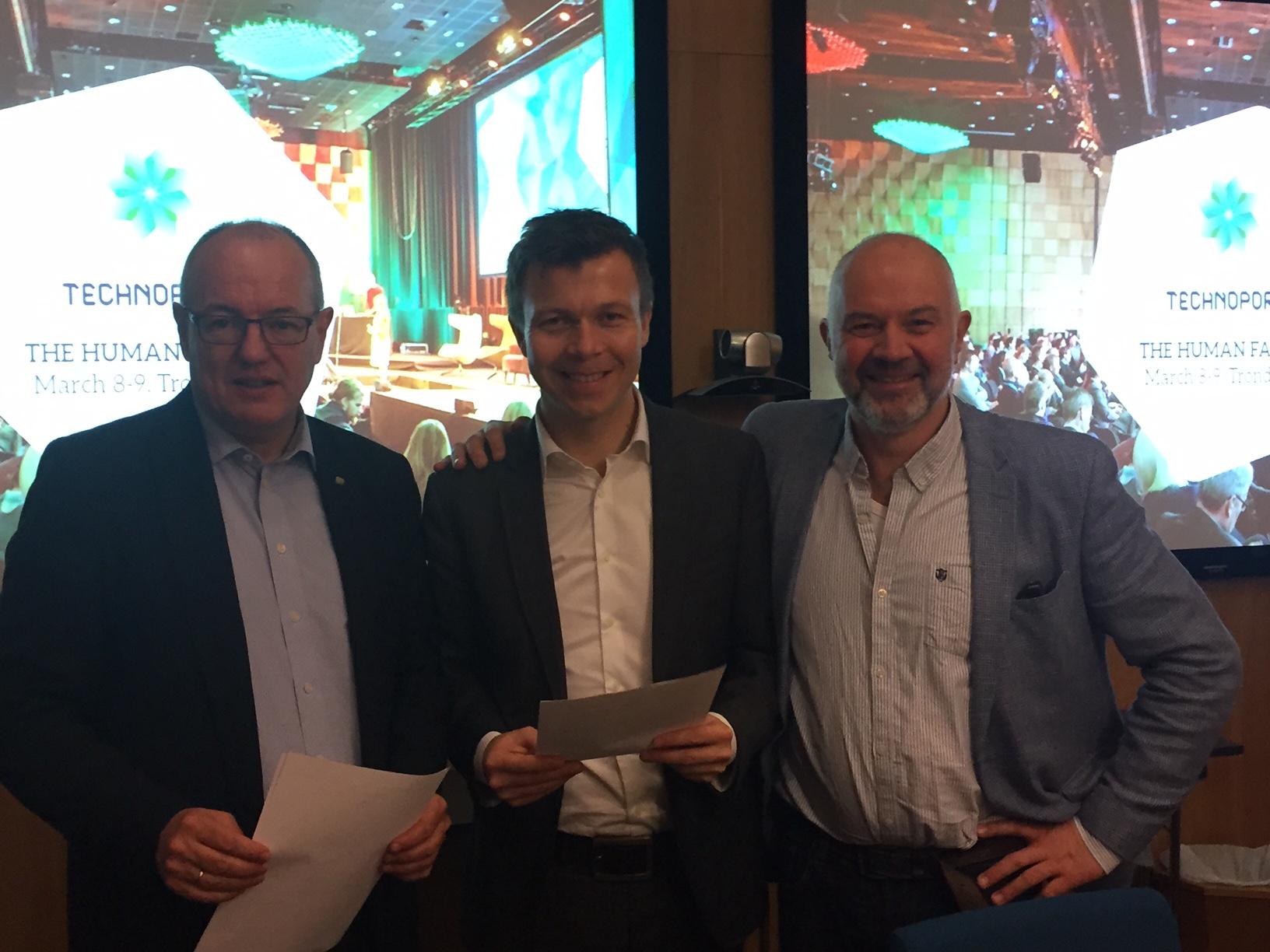 NTNU signerer millionkontrakt med Technoport