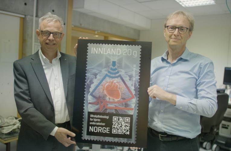 Forskning, innovasjon og teknologi på nye frimerker