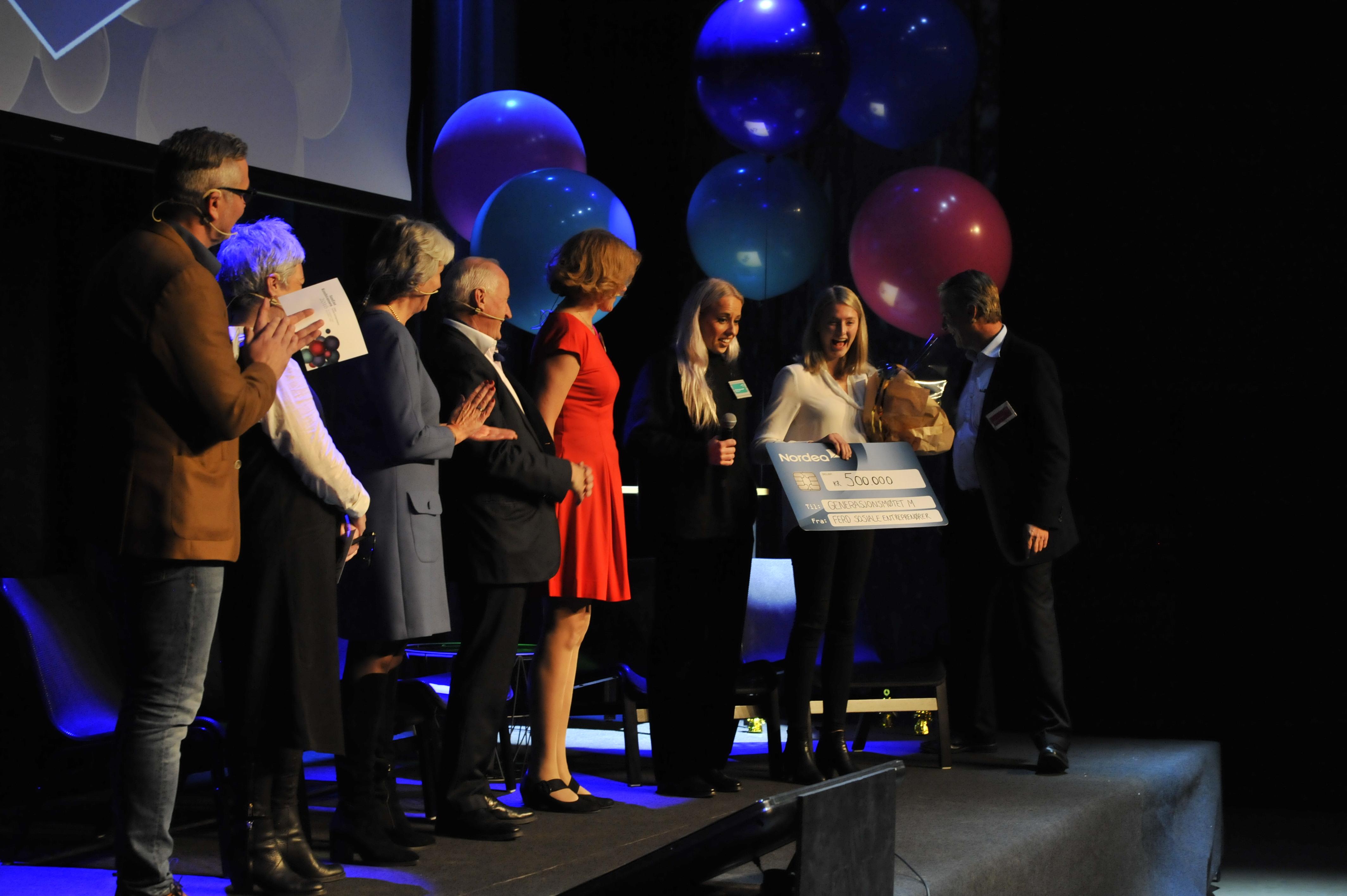Generasjonsmøtet M kåret til Årets Sosiale Entreprenør