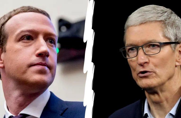 Apple og Facebook på kollisjonskurs, – får vi se to Goliater i kamp?