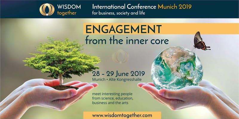 Wisdom Together konferansen i Munchen: Om å engasjere seg klokt i en ny tid!