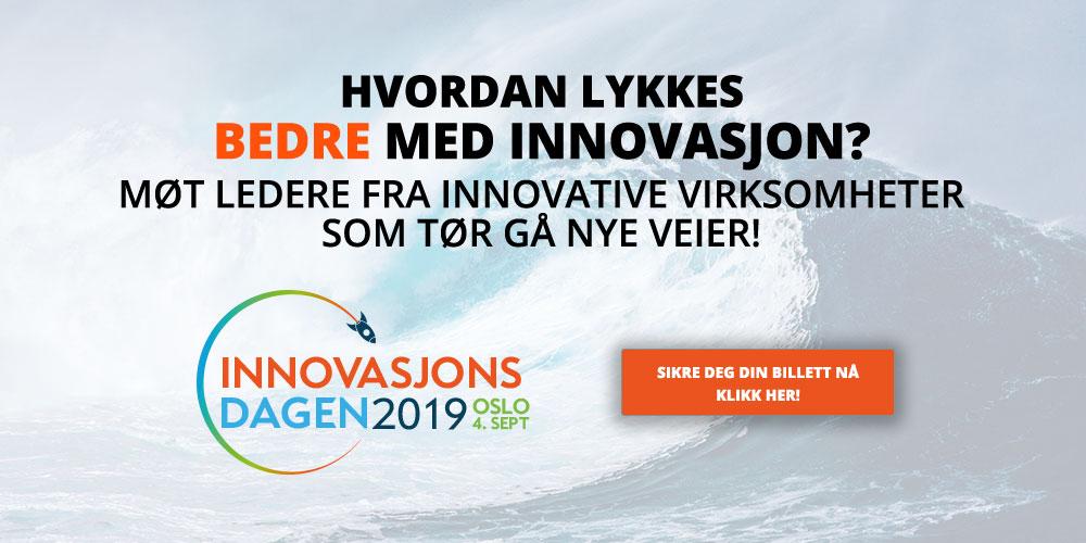 Verdens mest innovative selskap til INNOVASJONSDAGEN 2019