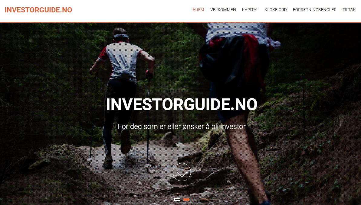 Nå prelanseres Investorguide – en ressurs for de som ønsker å investere i startups