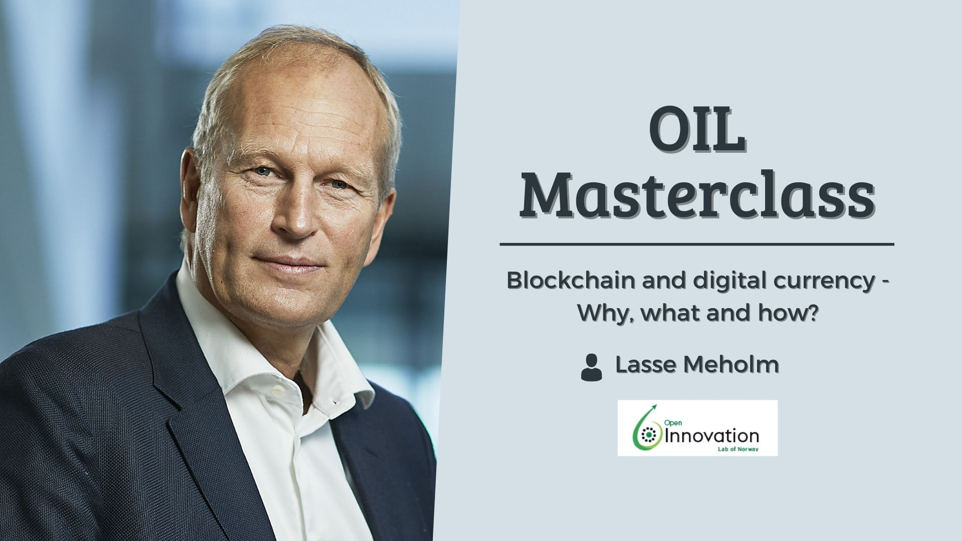 Masterclass med Lasse Meholm