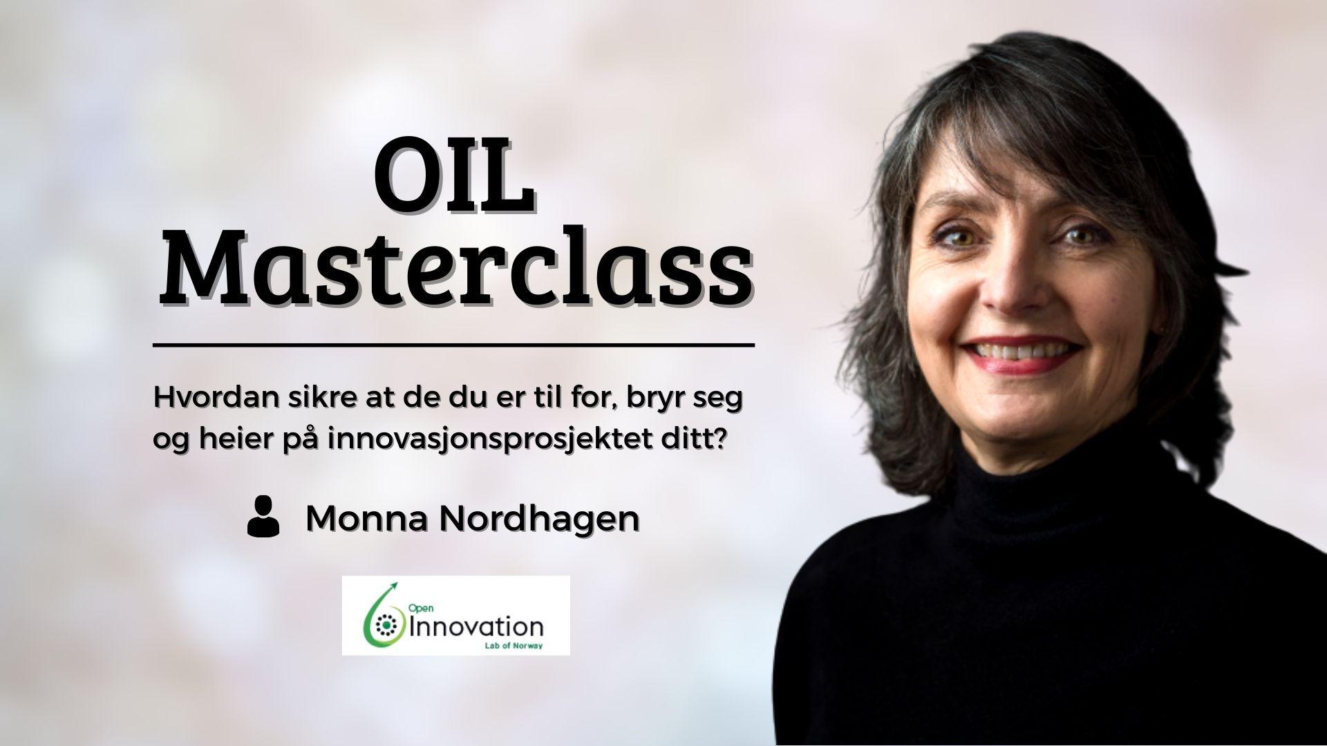 Masterclass med Monna Nordhagen