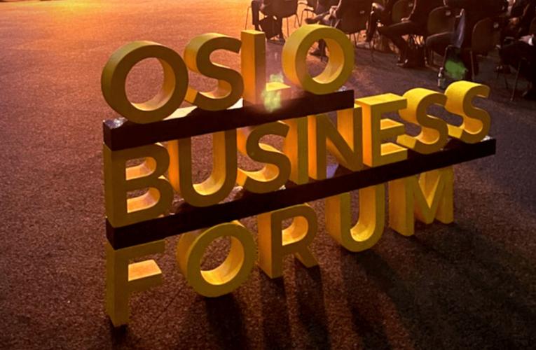 Yuval Harari til Oslo Business Forum i 2022