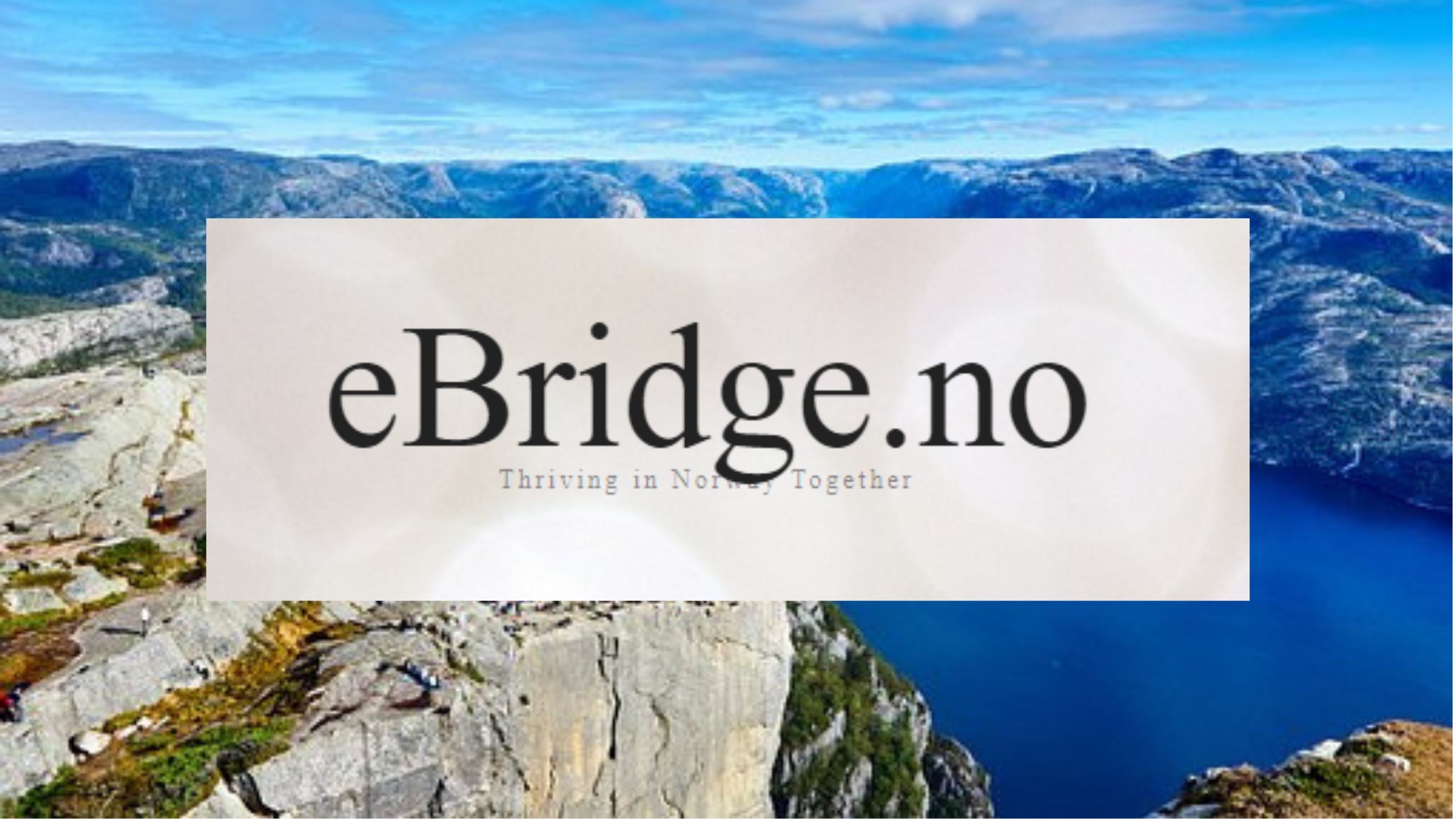 InnoMag lanserer eBridge.no – portal for Expats
