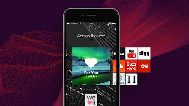 Get Snapchat-like stories from your favorite sites, with Opera Coast