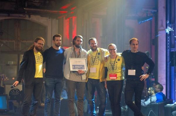 Norsk startup gjør storeslem på Europas største hackathon