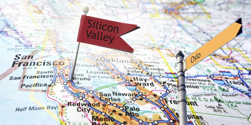 Silicon Valley og Oslo – to globale hotspots med fellestrekk og én viktig forskjell