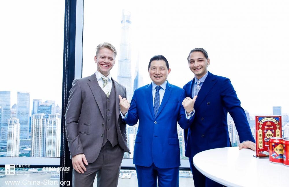 Magnus Arveng (Co-Founder & Co-CEO på Ntention), Bo Ji (Program Founder på China Start), og Moina Tamuly (Co-Founder & Co-CEO på Ntention)