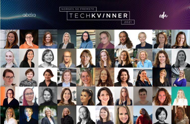 Norges 50 fremste tech-kvinner 2021