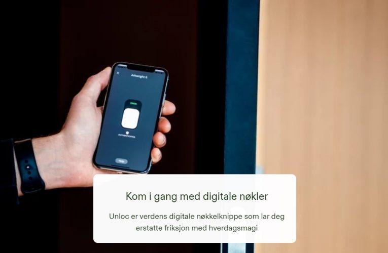 Forenkler kundenes hverdag med nøkkel på mobil